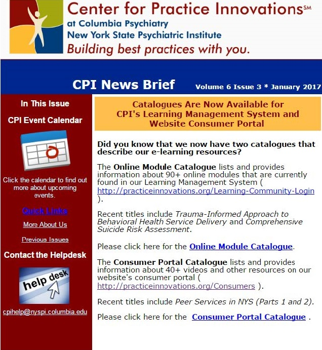 Image Result For Center For Practice Innovations Cpi Learning Community